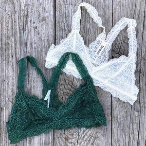 Anemone • Lace Bralette Bundle